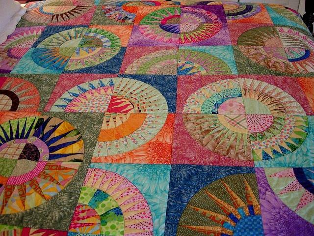 New York Beauty: Quilt Ideas, Ny Beauty, Patchwork Curves, Art Quilts, New York, Photo, Beauty Quilts, York Beauty