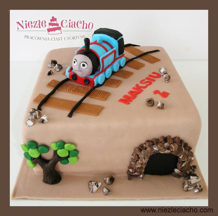 Pociąg Tomek, Pociąg Tomek i Przyjaciele, tort urodzinowy, tort dla dziecka, dziecko, bajka o pociagu, pociąg, tort bajkowy