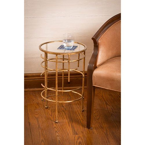 Waldron Gold End Table
