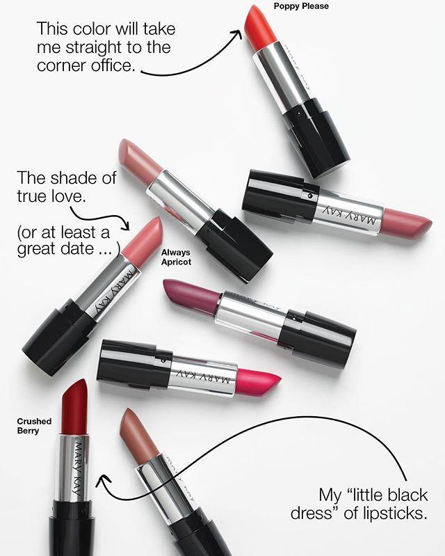 Lipstick moods 💄NEW Mary Kay Gel Semi-Matte Lipstick #MaryKay #MaryKayMalaysia…