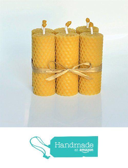 Velas de 100% Cera De Las Abejas Tamano 8 x 3 cm Juego de 6 Velas 100% Naturales Aroma De Miel/Cera 100% Hecho A Mano de Honey Candles I Velas de cera de abeja I  Bienenwachs Kerzen I  Des bougies de cire d'abeille https://www.amazon.es/dp/B01N37O7XN/ref=hnd_sw_r_pi_awdo_YVT2ybH515P7D #handmadeatamazon