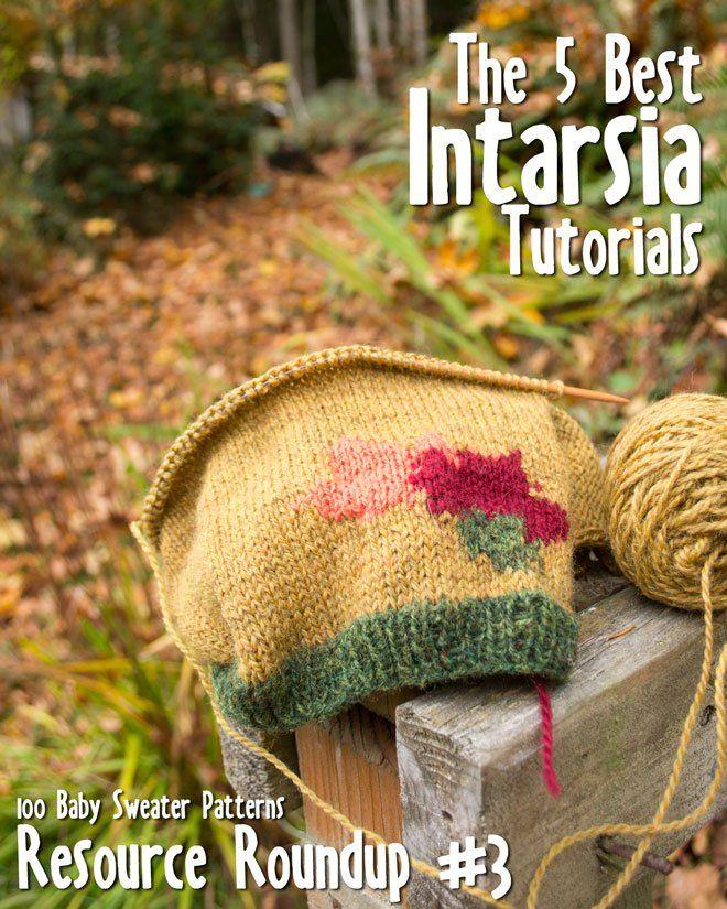 The 5 Best Intarsia Tutorials - 100 Baby Sweater Patterns