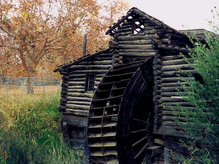 Bakersfield, CA : Mill Wheel, Hart Park