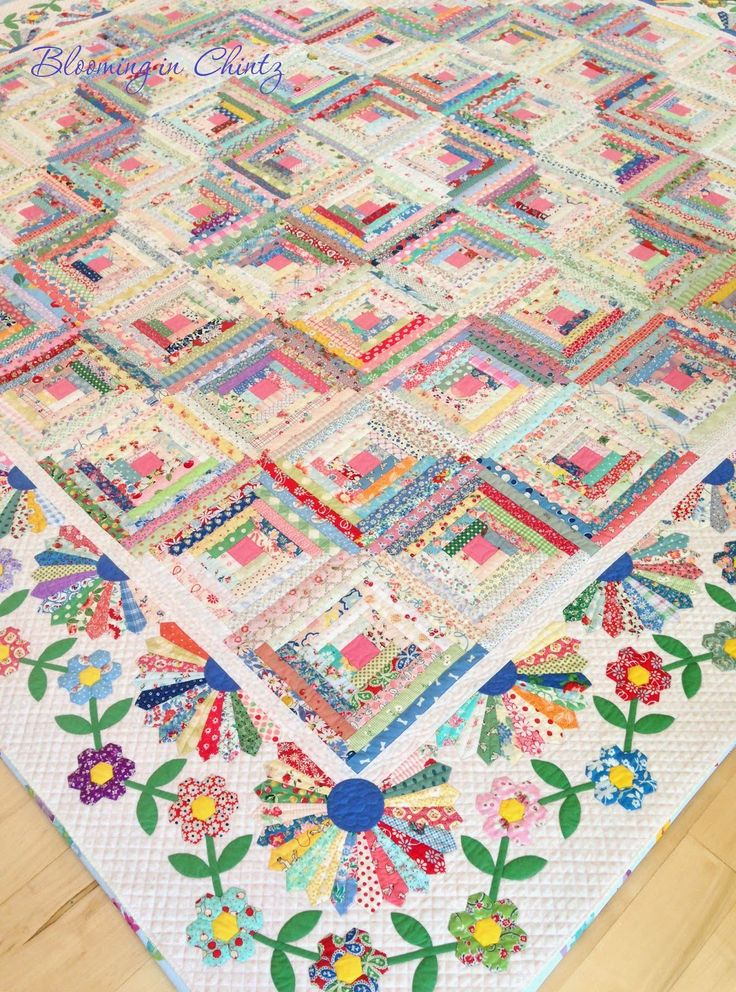 Crazy Quilt Pattern Fabric : 358 best Quilts with 30 s Reproductions images on Pinterest Bedspreads, Comforters and Blankets