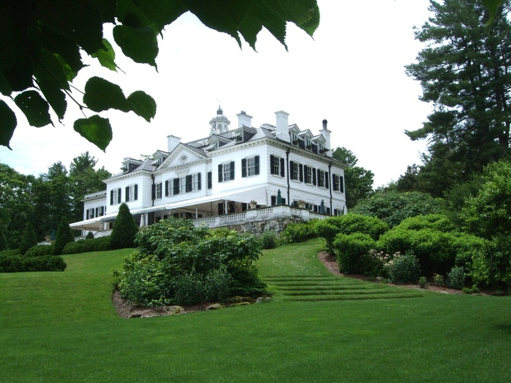 the mount edith wharton residence lenox ma weddings pinterest massachusetts tour guide. Black Bedroom Furniture Sets. Home Design Ideas