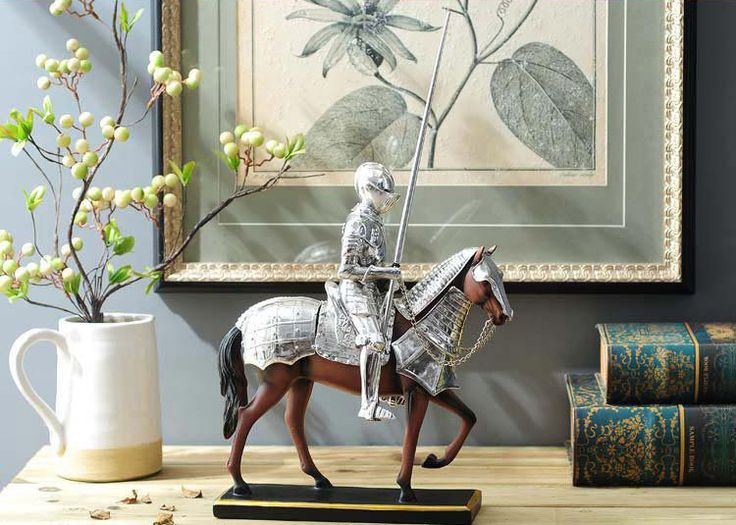 Knight Statue Decoration and Animal Horse Theme Art Craft, View Knight Statue Decoration, ANLUNOB Product Details from Wuhan Anlunob Home Decor Co., Ltd. on Alibaba.com