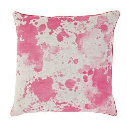 En route to me now...woohoo: Hands Prints, Prints Cushions, Fluoro Pink, Watercolor Pillows, Cushions Covers, Pink Pillows, Products, Watercolour, Dyes