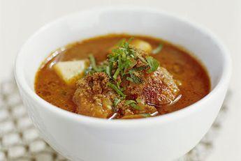 Köttfärssoppa med morot och potatis | Recept från Köket.se