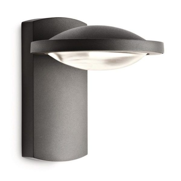 applique exterieure a led ross coloris anthracite
