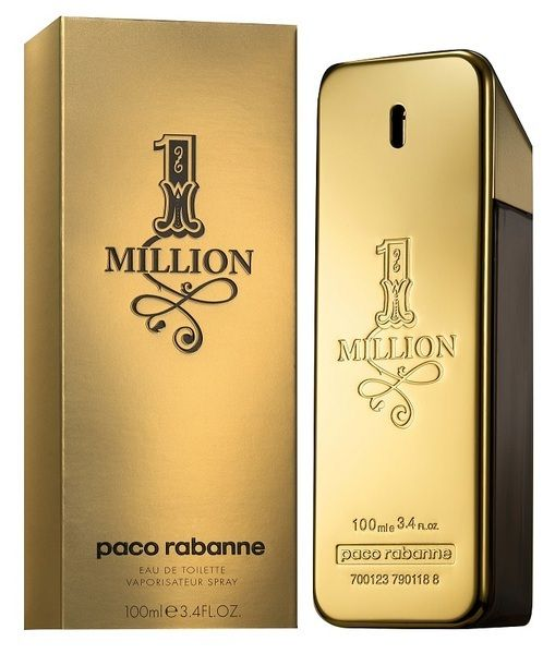 One MILLION Paco Rabanne Eau de Toilette Spray 100ml - Camdise's One Million Paco Rabanne