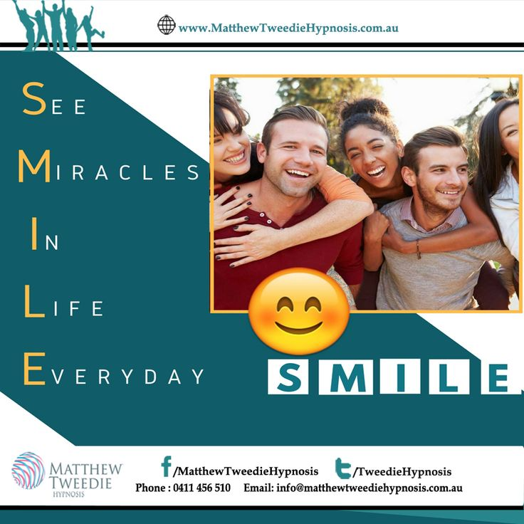 If you see someone without a smile today, give them one of yours. #StressFreeLife #LiveLife # #WhyHypnotherapy #TimeForLife #NewLife #StressFreeLife #KeepSmiling