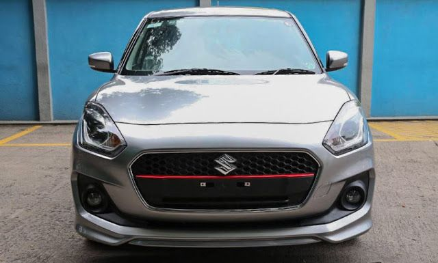 Maruti Suzuki Swift RS Spotted 2018