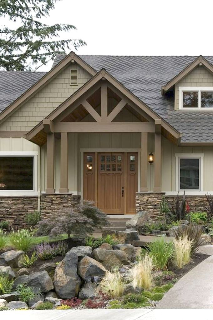 Awesome Cottage Exterior Colors Schemes Ideas007 House Paint Exterior Exterior House Colors Cottage Exterior