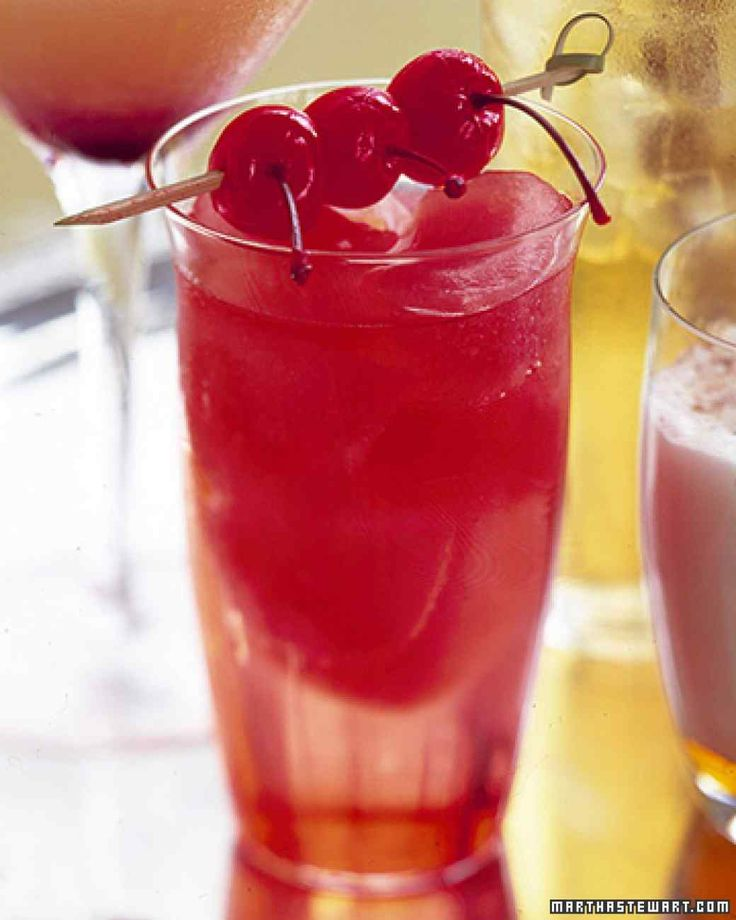 Offer guests a choice of alcohol-free drinks, including the Cranberry Sparkler, Apple-Pie Cider, and Peppermint Hot Chocolate.
