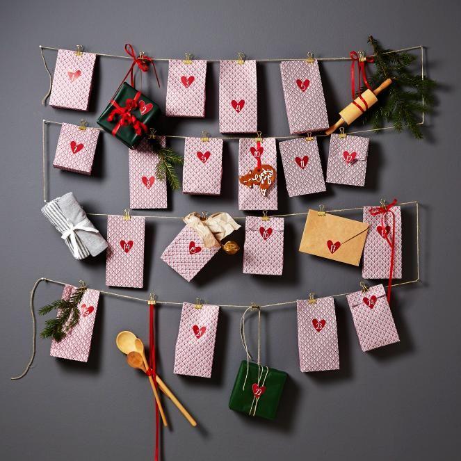 Kalenteri Palmea 10,95 #joulukalenteri #joulu #hemtex