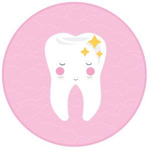 Download: slinger tandenfeest (voor meisjes) - ministijl