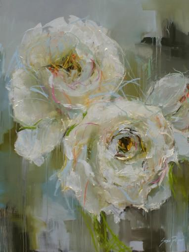 Pivoines - Susie Pryor, Pryor Fine Art, These are wonderful (new flower series)