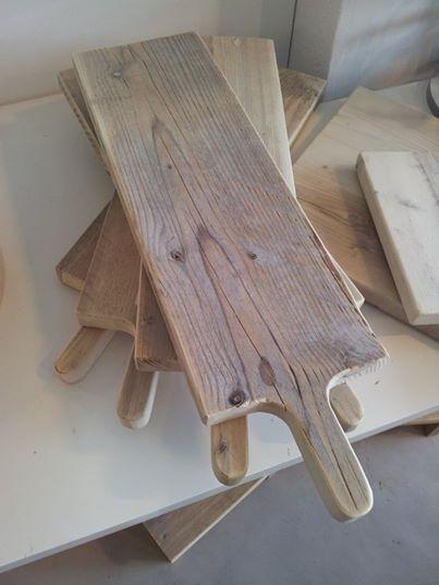broodplank uit steigerhout, volledig DIY
