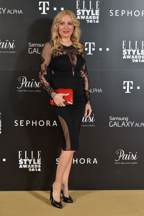 Stylish and chic, Dana Savuica was a refined appearance in an elegant CRISTALLINI cocktail dress with seductive transparencies, at Elle Style Awards event.  #cristallini #cristallinidresses #littleblackdress #celebrity #celebrities #celebritystyle #luxury #luxurystyle #cocktaildress #blackdress #fashion #style #fashionista #fashionstyle #fashiondesigner #romaniandesigner