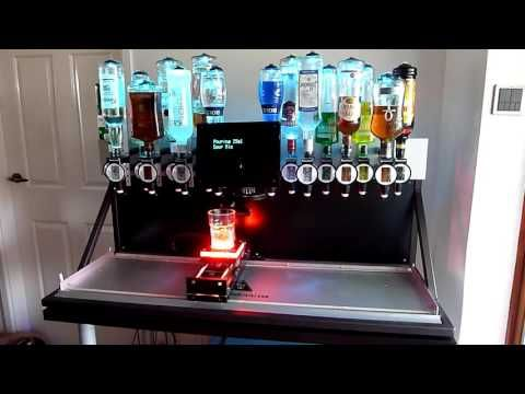 the inebriator arduino powered cocktail machine smarthome schtuff and things pinterest. Black Bedroom Furniture Sets. Home Design Ideas