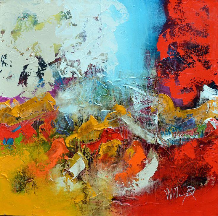 100x100cm door William Malucu - Te huur/te koop via Abrahamart.com  #art #popart #painting #kunst #kunstuitleen #WilliamMalucu #abrahamart #bramreijnders #Eindhoven