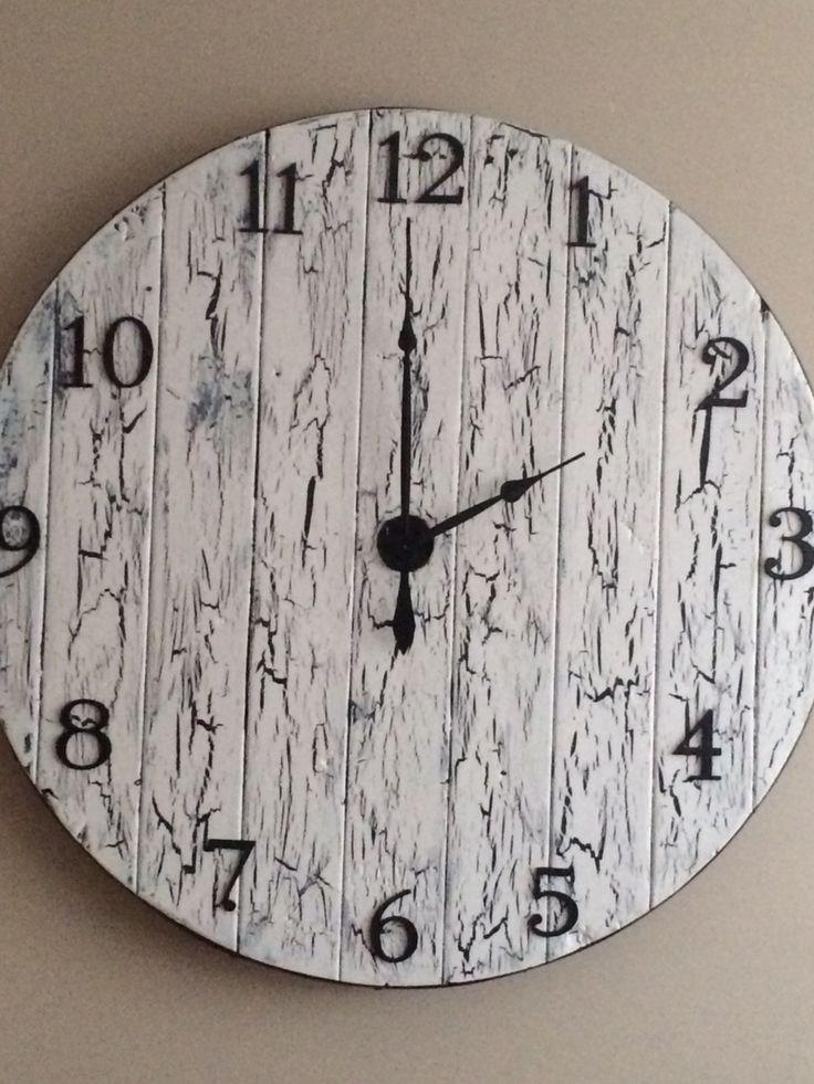 4 foot wire spool clock