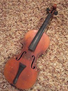 Vintage Violin -Copy of Antonius Stradivarius -Made in Paris-For Repair