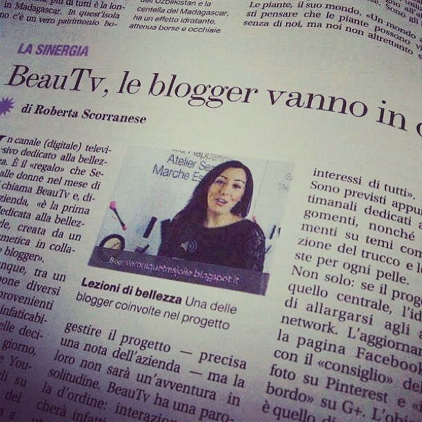 Sephora BeauTV è sul Corriere della Sera con un articolo di Roberta Scorranese. Scoprite il progetto dedicato alla bellezza che Sephora Italia ha ideato per tutte le donne con il prezioso contributo delle BeauTV Girls: AliceLikeAudrey, LaCindina, MakeUpandTVSeries, Robyberta, simplyNabiki, The Dolls Factory, VéroniqueTrèsJolie (nella foto) e Zagufashion! Trovate tutte le puntate sul canale YouTube di SephoraItalia!