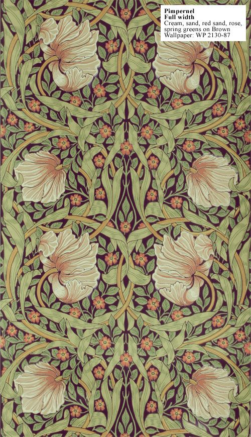 545 Best Wallpaper Images On Pinterest William Morris