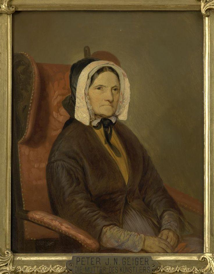 Peter Johann Nepomuk Geiger, Antonia Geiger, um 1840, Öl auf Leinwand © Wien Museum