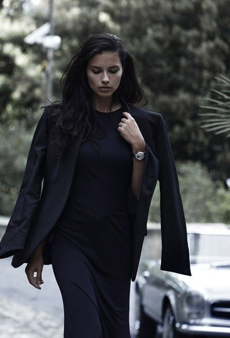 """sand-snake-kate: """"Adriana Lima by Peter Lindbergh for ICW Watches """""""