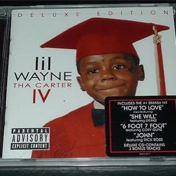 "Brand New: Lil Wayne, ""Tha Carter IV"" Music Album. Hip-Hop Music @ Immortalmastermind.com ($29.95)"