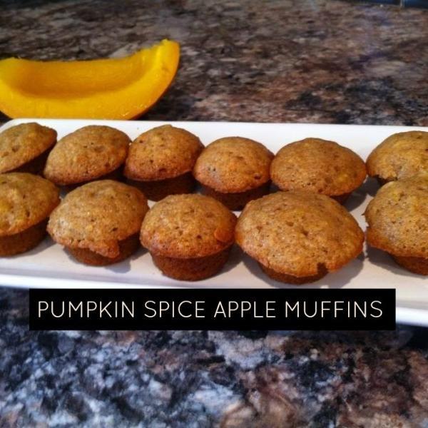 pumpkin spice muffins apple muffins muffin recipes warm costume ideas ...