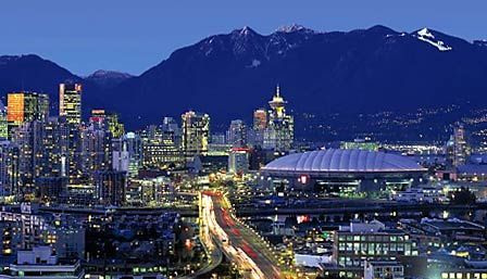 Vancouver-the city with the mountains, breathtaking!