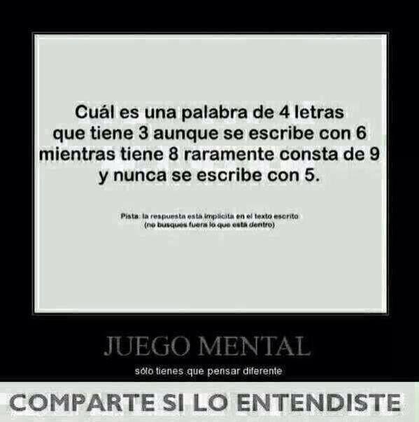 Juego Mental Juegos Mentales Pinterest Mind Games Humor Y Memes