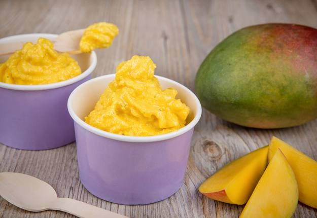 Looking for a cool treat this summer that's both delicious and packed full of nutritious goodness? Well here it is - a wonderful dairy free mango sorbet recipe– enjoy!