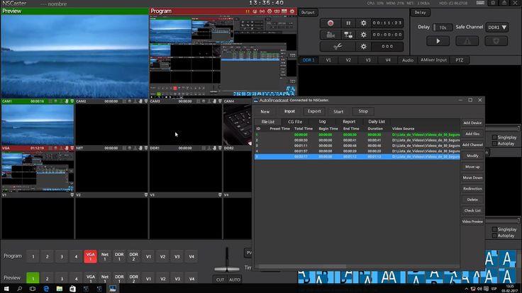 NSCaster Autobroadcast - Crea un PlayList rápidamente