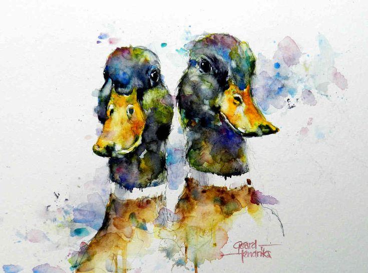Duckies... GERARD HENDRICKS