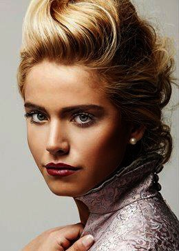 Turkish Actress, Ceyda Ateş | #Hair #Makeup #Blonde
