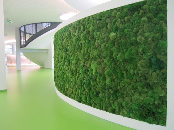 Moss Wall By Art Aqua Moss Green Natural Vertical