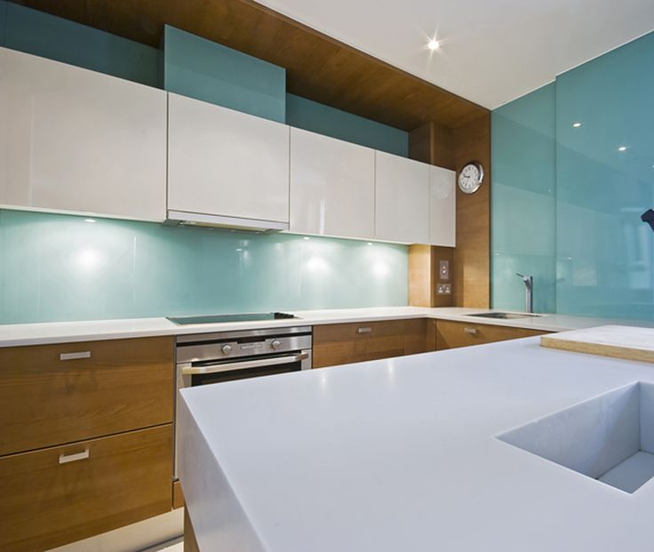 21 Best Blue Splashbacks Images On Pinterest Kitchens