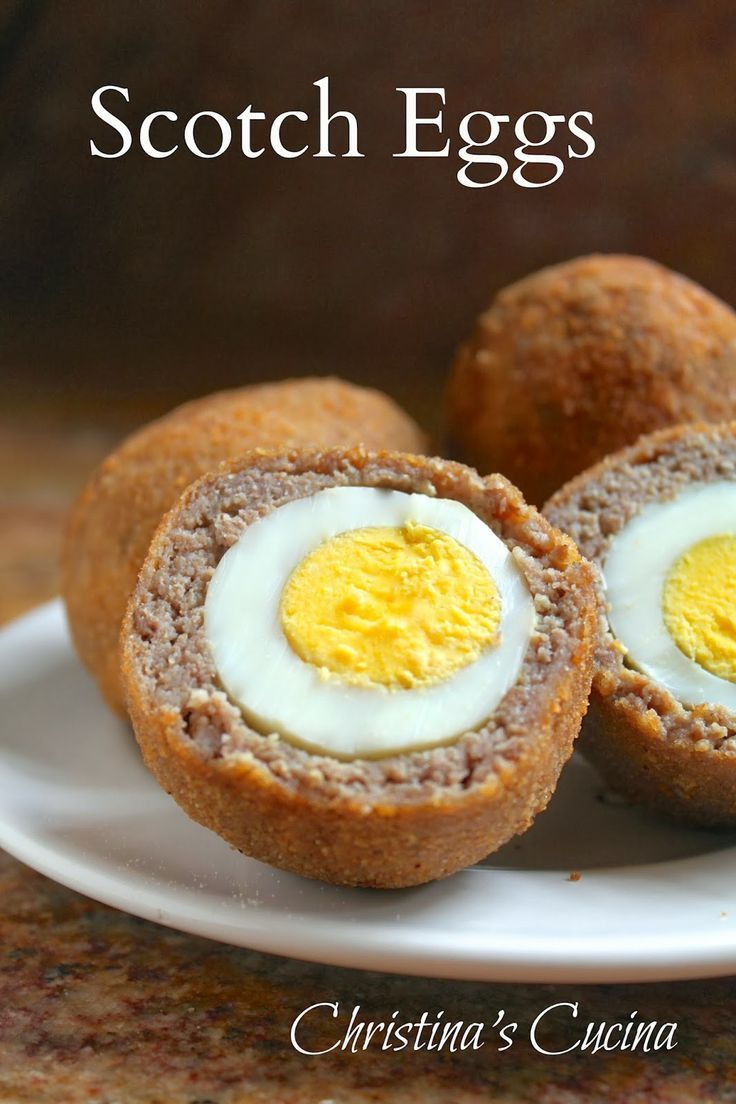 Christina's Cucina: Scotch Eggs are not difficult to make even though it looks like they would be. Dad would love these on Father's Day!