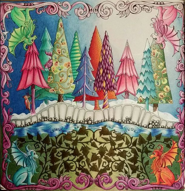 """Johanna Basford   Anna Lee Sanders   Join fb grown-up coloring group: """"I Like to Color! How 'Bout You?"""" https://m.facebook.com/groups/1639475759652439/?ref=ts&fref=ts"""
