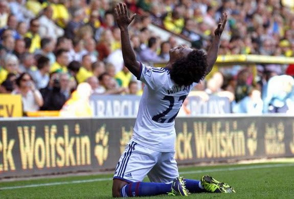 Goal of the day: Willian (Chelsea) vs Norwich