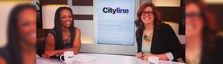 Shannon Lee Simmons with money advice on Cityline!  Everyone wants to work with Shannon!  And we're SO proud to have her as a Fresh Collective Role Model for 2016!