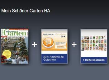 Ideal Mein sch ner Garten Zehn Ausgaben f r effektiv vier Euro frei Haus http