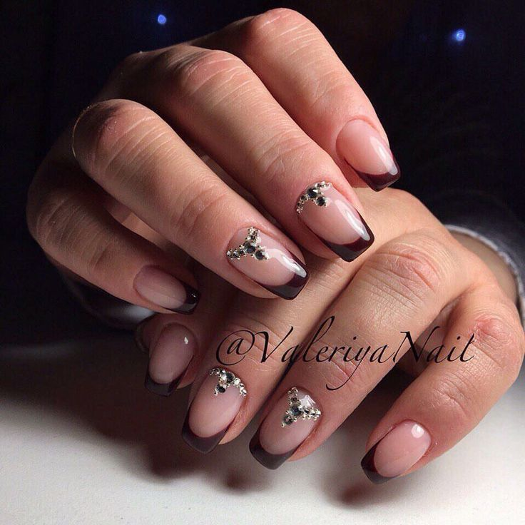 Girls Nail Art New Dizains: 531 Best Images About French Nails On Pinterest