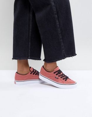 Vans Lampin Unisex Trainers In Pink  f38b66c3e