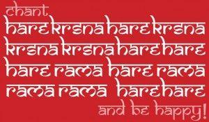 Chanting Hare Krishna mantra on beads (Part 1)