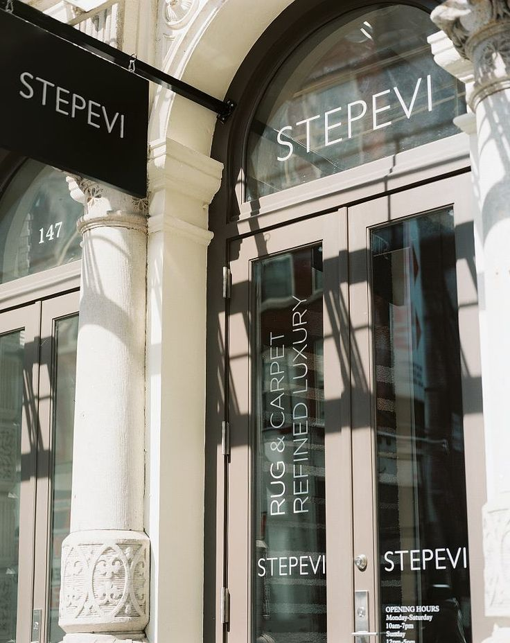 #STEPEVI's showroom New York is the perfect place for inspiration and design ideas